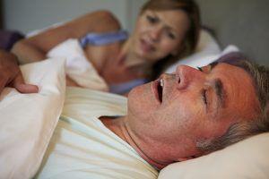 El ronquido y la apnea del sueño